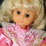 кукла гдр Розочка кареглазая