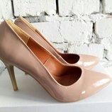 Лодочки туфли на шпильке натуральная кожа/замша/лак р.35-41