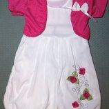 Нарядное детское платье с болеро Турция Beebaby Бибеби