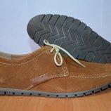 замшевые туфли коричневые