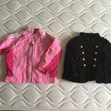 1-2,5 год. GAP. ADIDAS. Ветровка и пиджак на весну- лето. Как новые. Розовая ветровка .ADIDAS. На