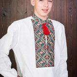 Красивая мужская вышиванка лен недорого