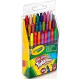 Crayola Восковые карандаши выкручивающиеся 24 Ct Twistables Fun Effect Crayons