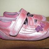 Туфельки CLARKS First Shoes шкіряні комфортні Оригінал Великобританія р.4 стелька 12 см