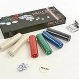 Набор для покера 300 фишек в картонной коробке Pro Chips 300AP фишки с номиналом