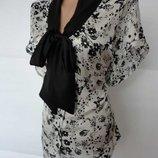 Красивенная Блузка В Бабочках Р.54