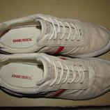 Кросівки брендові шкіряні Diesel Оригінал Німеччина р.38 стелька 25 см