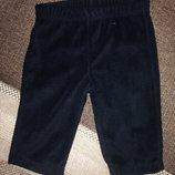 0-3 мес нереально мягусенькие флисовые штаники штанишки