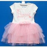 Нарядные платья на малышей Турция 86,92,98 рост