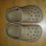 Крокси crocs аквашузы ельза 24-25 размер 6/7