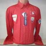 Распродажа мужских рубашек с длинным рукавом Vancouver Ski. 4 цвета.