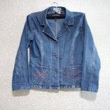 Пиджак джинсовый р.44-46-48, JD the best jeans куртка женская, распродажа нарядная