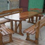 Садовые столы скамейки