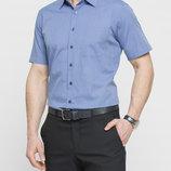 в наличии мужская рубашка LC Waikiki с коротким рукавом василькового цвета