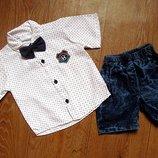 Нарядні костюмчики для маленьких джентельменів