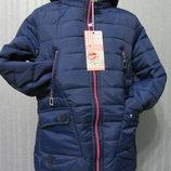 Моднявая осенняя куртка парка для девочек Р-Ры 134-164 Фирма GRACE по супер цене