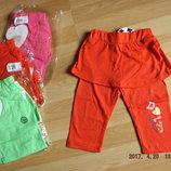 Лосины юбка на девочку, 98-128 см. Венгрия.