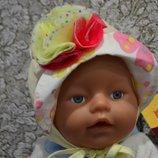 Детская шапочка панамка на девочку фирмы Dembo House