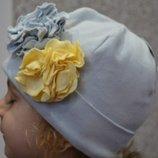 Детская весенняя шапка шапочка на девочку фирмы Pupill Польша