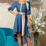 Красивое платье с вышивкой 783