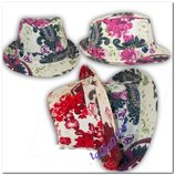 Шляпа шляпка панамка челентанка для девочек, девушек Ог 54-55 см.