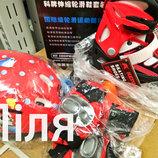 Ролики раздвижные Kepai F1-K9,защита,шлем, 30-33, 34-37, 38-41