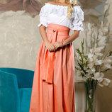 Красивая летняя юбка в пол 726