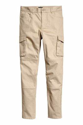 Мужские брюки карго EU34 L-XL наш 50-52 хлопок джоггеры джогеры