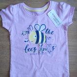 Новая футболка для девочки 12-18 месяцев, 80 см, Primark, Young dimensions