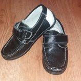 Кожаные туфли Шалунишка 28р. идеал