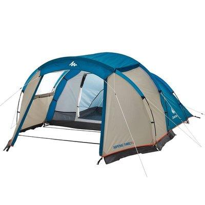 Туристическая палатка 4 местная Arpenaz Family 411