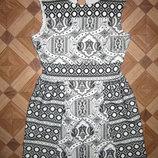 На Ог 90-93см Шикарное фактурное платье Miss Selfridge р-р 12