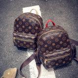 Стильные женские рюкзаки в стиле LV В Наличии