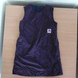 платье фиолетовое140 см сарафан теплый минни маус Disney Дисней теплое в школу