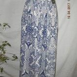 Новая легкая юбка с принтом