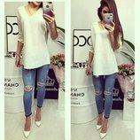Блуза Ткань - креп шифон