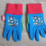 Перчатки краги детские Disney Дисней Mickey Mouse разноцветные