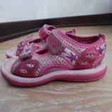 босоноги 14 см детские детские девочке оригинал розовые Clarks Кларкс