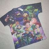 Классная футболка принт мультяшка Primark Toy Story