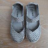 Мокасины девочке 34 р стелька 21,5 см кеды кроссовки Monroy