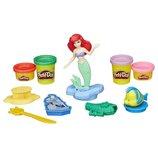 Play-Doh Принцессы Диснея русалочка Ариель и подводные друзья В5529 Disney Princess Ariel