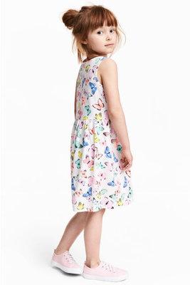 3d7ed4c175cb615 Летнее платье на девочку 6-8 лет от H&M Размер 122-128: 220 грн ...