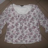 двухслойная блузка на 50-54