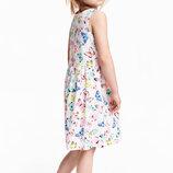 Летнее платье на девочку 6-8 лет от H&M Размер 122-128