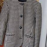 Модный пиджак,жакет гусиная лапка 40-42 или С,м