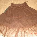 Оригинальная юбка с фатином