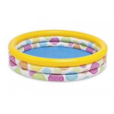 Бассейн надувной Три кольца
