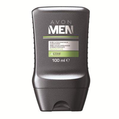 Комплексное средство для лица Мягкий уход 2 в 1 бальзам после бритья и увлажняющий крем, 100 мл