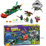 Конструктор Bela 10263 Черепашки-Ниндзя Нападение с воздуха 285 деталей аналога Lego 79120