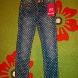 джинсы скини для девочек от Kiki Koko -Германия 110см